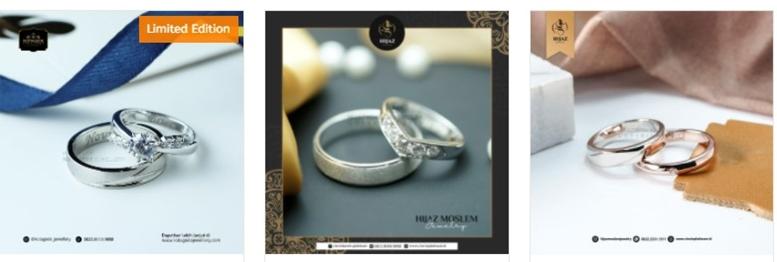 cincin pernikahan emas magelang